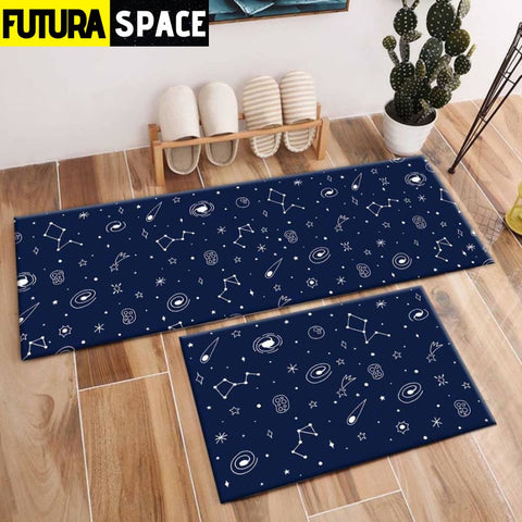 SPACE CARPET - 2Pcs Galaxy Planet - 1041 / 120X40cm and