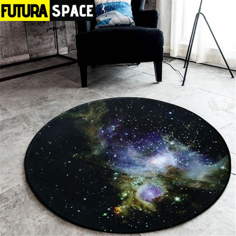 SPACE CARPET - 3D Galaxy Star - No-3 / Diameter 60cm -