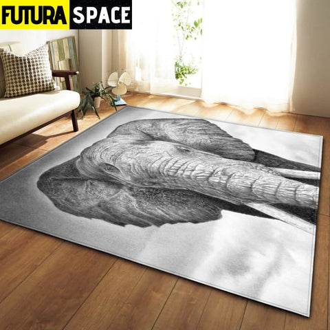 SPACE CARPET - 3D Printed Area - No-6 / 152x99cm - 100000392