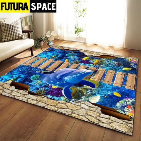 SPACE CARPET - 3D Printed Area - No-11 / 152x99cm -