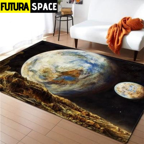 SPACE CARPET - 3D Printed Area - No-16 / 152x99cm -