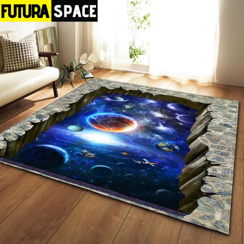SPACE CARPET - 3D Printed Area - No-8 / 152x99cm - 100000392