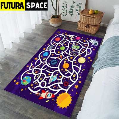 SPACE CARPET FOR KIDS - 2 / 91x152cm - 100000392