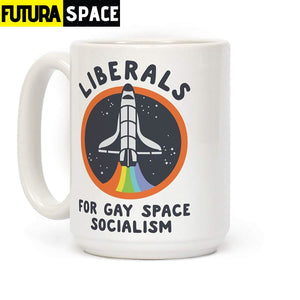 Space Coffee Mug - 301-400ml - 100003290