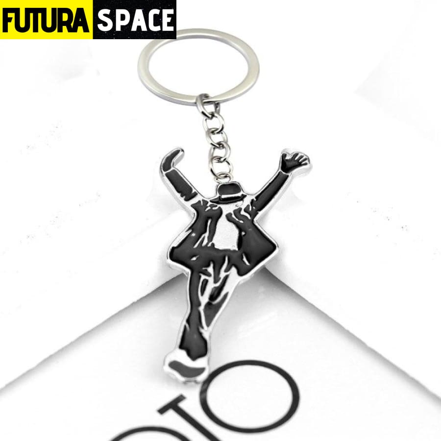 Space Keychain - Michael Jackson - White - 200000174