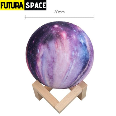 SPACE LAMP - 16 Colors Moon - 8cm - 39050508