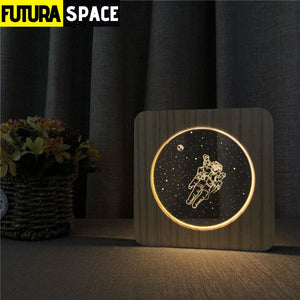 SPACE LAMP - Astronaut 3D - 39050508