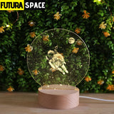 SPACE LAMP - Creative Astronaut - 39050508