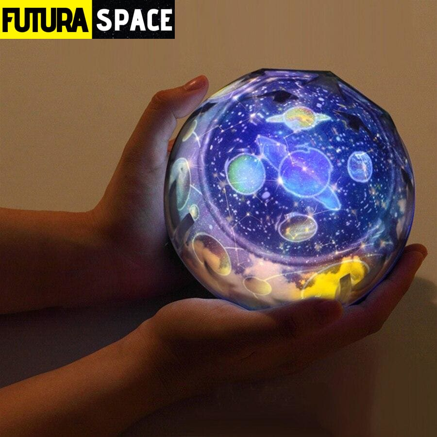 SPACE LAMP - Earth Rotate Projector - 39050508