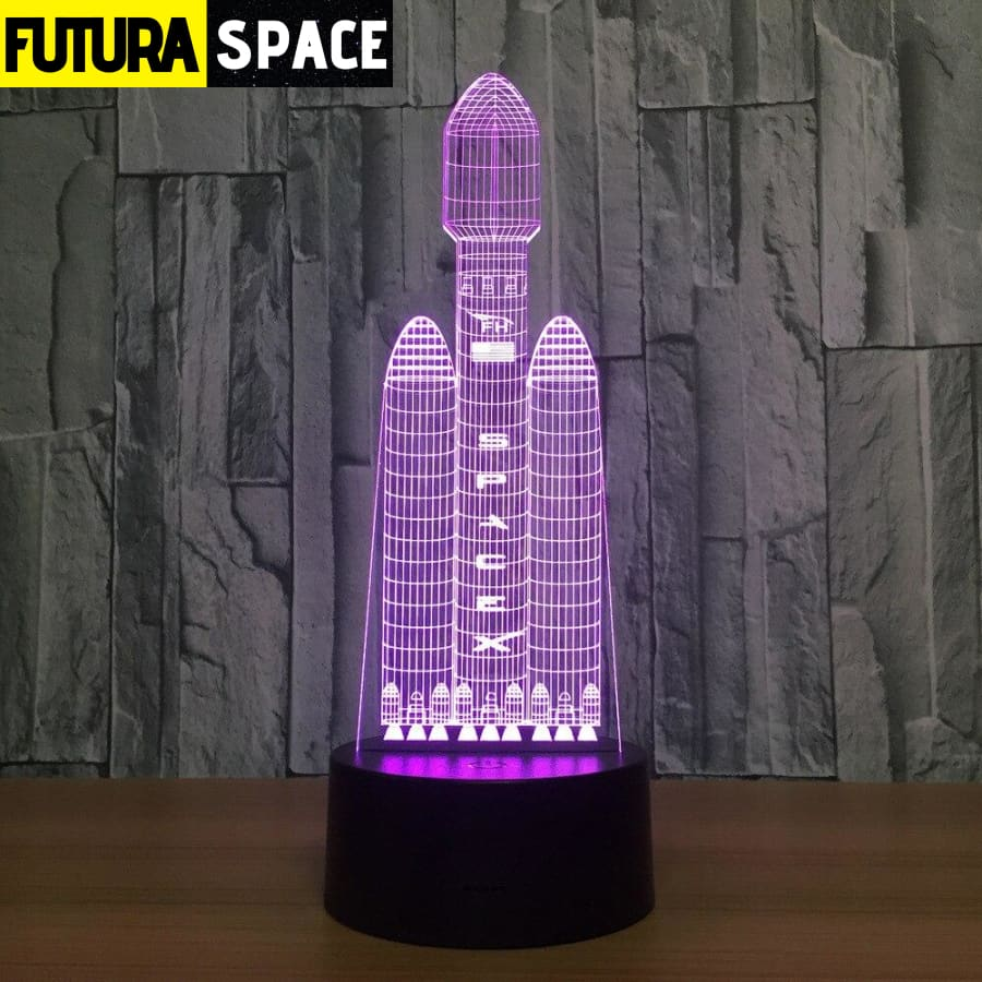 SPACE LAMP - Lights For Kids