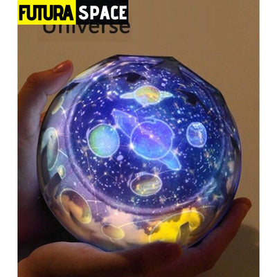 SPACE LAMP - Magic Projector - changeable / Rotatable -