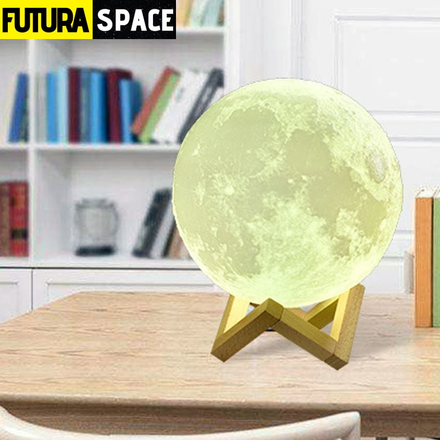 SPACE LAMP - Moon 3D - 39050508