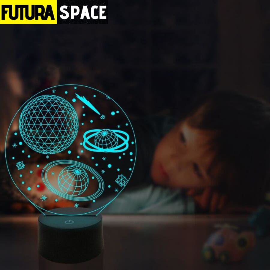 SPACE LAMP - Outer Space 3D - 39050508