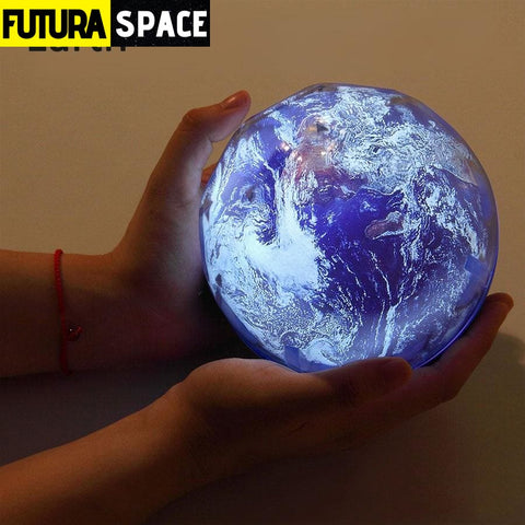 SPACE LAMP - Projector Earth - Earth / Rotate / China -