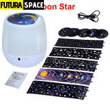 SPACE LAMP - Projector Night - Moon Star / China - 39050508