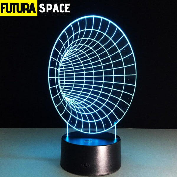 SPACE LAMP - Space Tunnel 3D - 7 Colors Change - 39050508