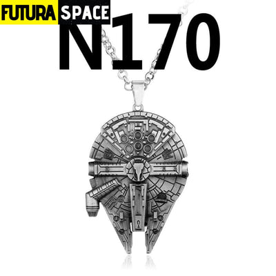 SPACE NECKLACE - STAR WARS - silver - 200000162