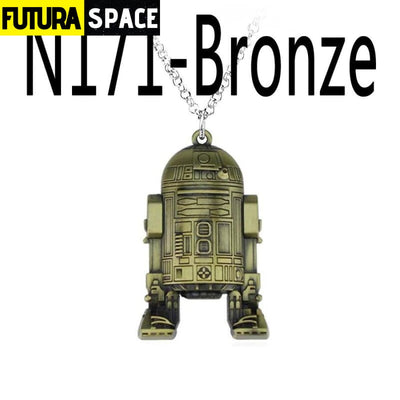 SPACE NECKLACE - STAR WARS - bronze - 200000162