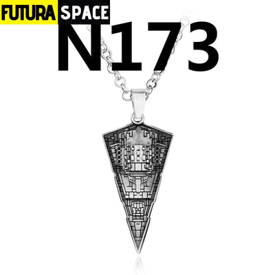 SPACE NECKLACE - STAR WARS - silver 4 - 200000162
