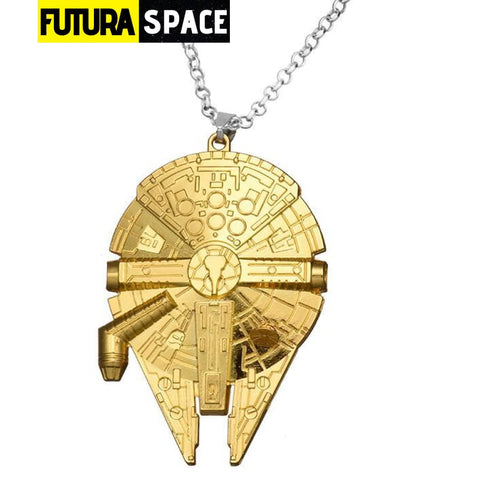 SPACE NECKLACE - STAR WARS - Gold - 200000162