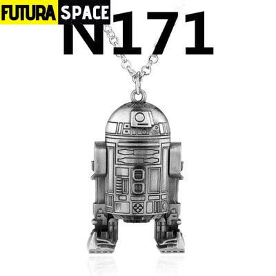 SPACE NECKLACE - STAR WARS - silver 2 - 200000162