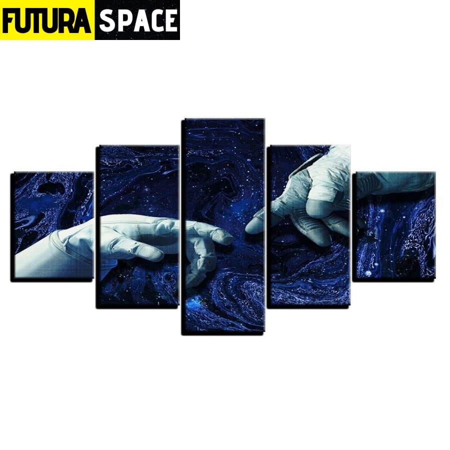 SPACE PAINTING - 5 Pieces Universe - 1704