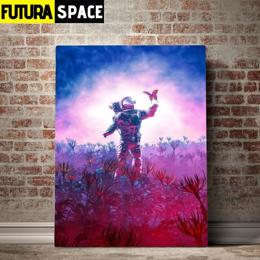 SPACE PAINTING - Astronaut Traveler - 1704