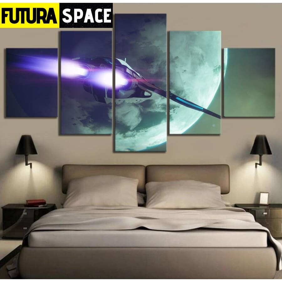 SPACE PAINTING - Destiny 2 Game - 1704