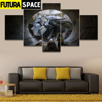 SPACE PAINTING - GIANT CANVAS - 1704
