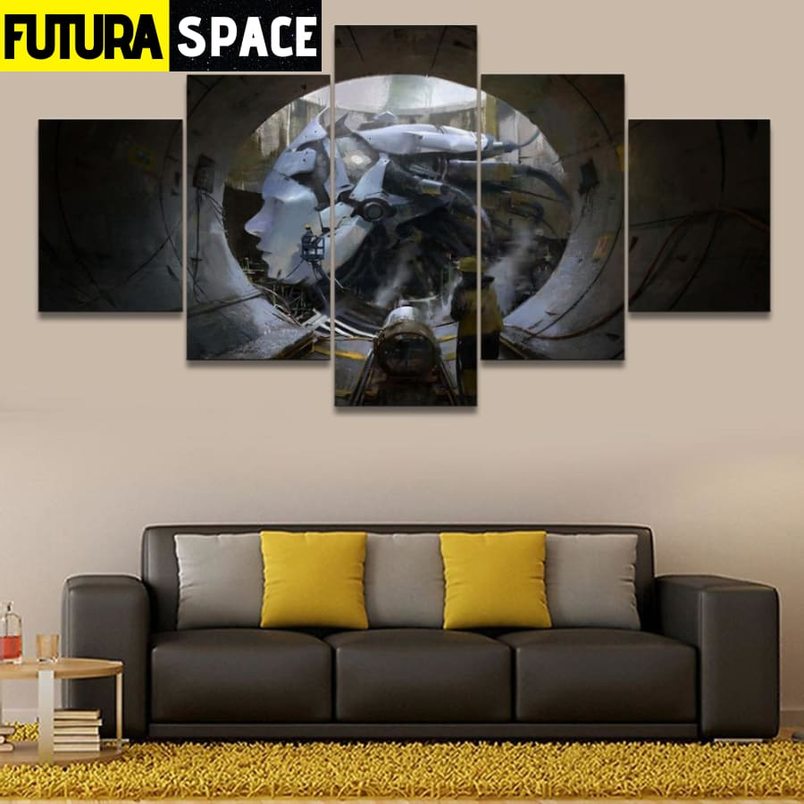 SPACE PAINTING - GIANT CANVAS