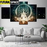 SPACE PAINTING - Modern abstract - 1704