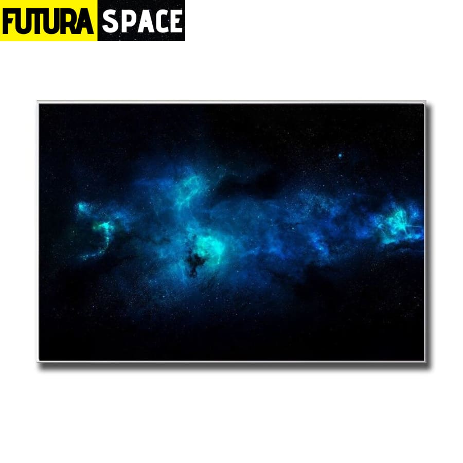SPACE PAINTING - NEBULA GALAXY