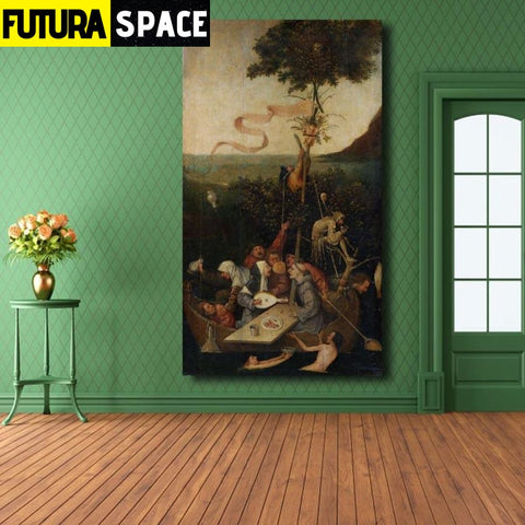 SPACE PAINTING - ORIGIN WALL ART - 8X16 / 21 - 1704