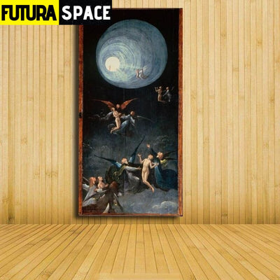 SPACE PAINTING - ORIGIN WALL ART - 8X16 / 261 - 1704