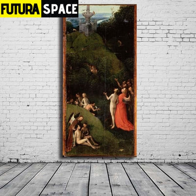 SPACE PAINTING - ORIGIN WALL ART - 8X16 / 26 - 1704
