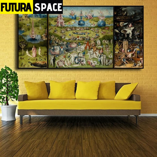 SPACE PAINTING - ORIGIN WALL ART - 1704