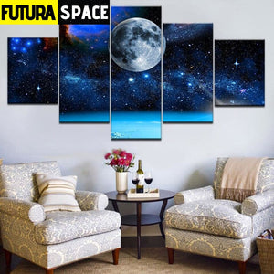 SPACE PAINTING - parallel universes - 1704