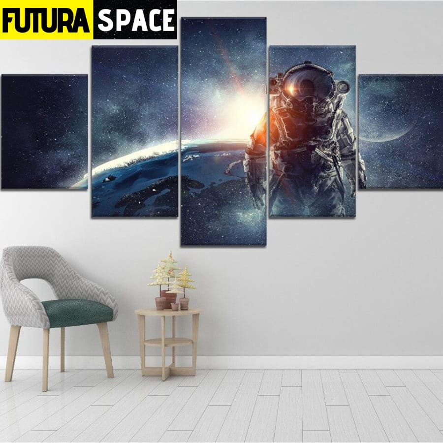 SPACE PAINTING - Planet Wall Art Hd - 1704