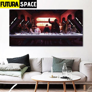 SPACE PAINTING - SCI-FI MOVIE - 1704