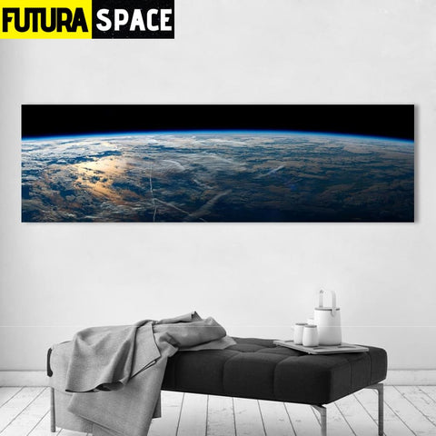 SPACE PAINTING - Space Wall Picture - 1704