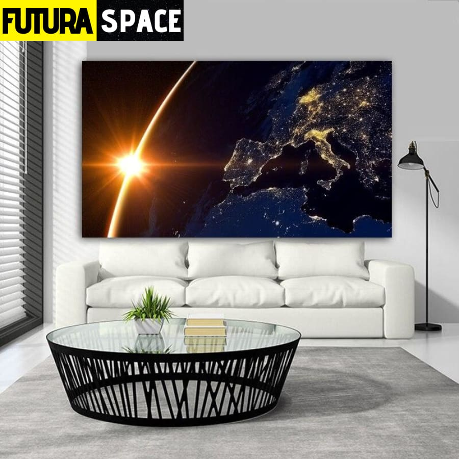 SPACE PAINTING - Universe - 1704