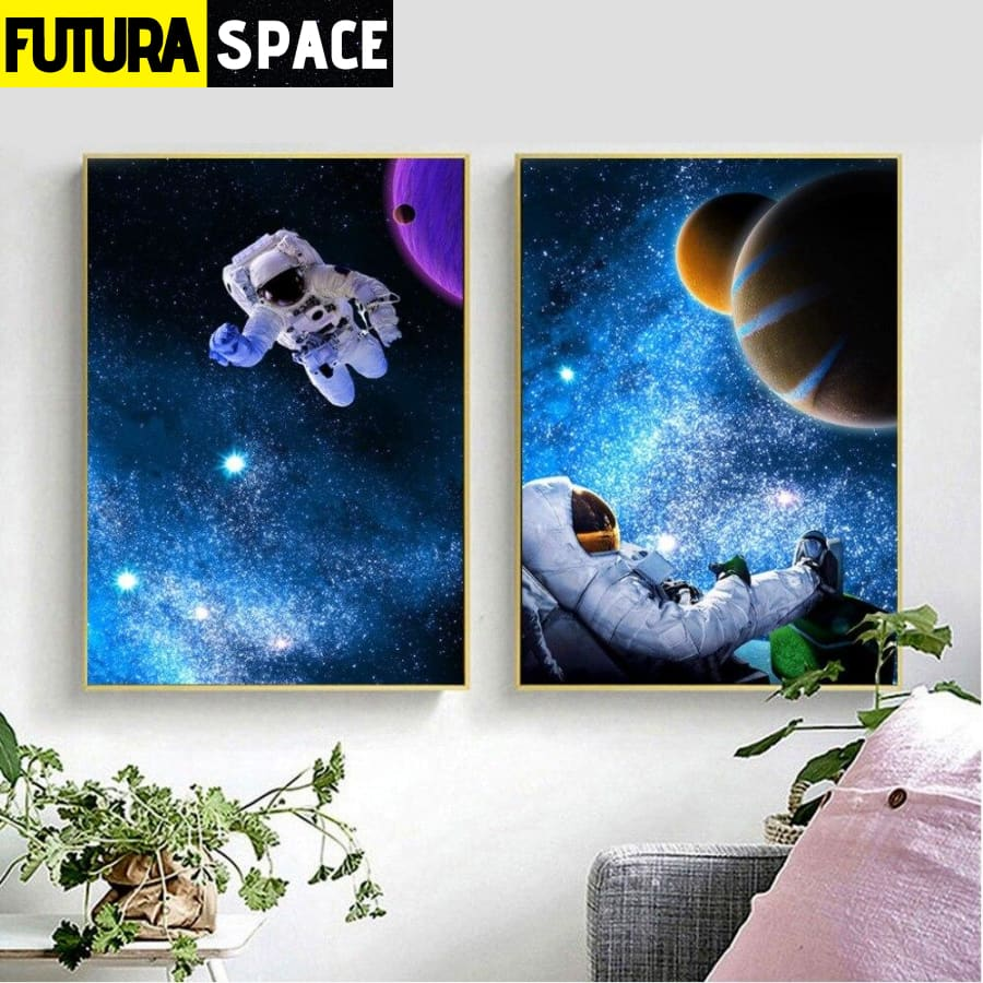 SPACE PAINTING - Universe Series - 1704