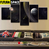 SPACE PAINTING - WALL ART FRAME - 1704