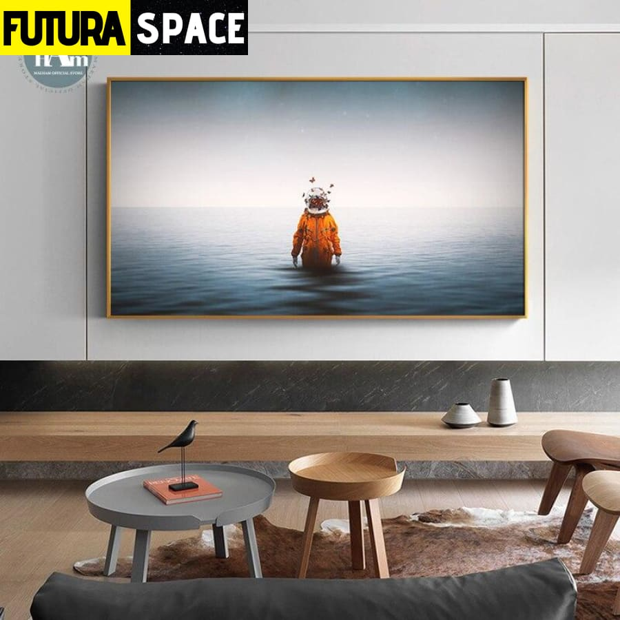 SPACE PAINTING - Wall Art - 1704