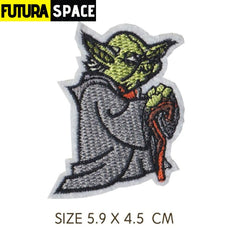 SPACE PATCH - 1PCS Movie Star Wars Robot Embroidered