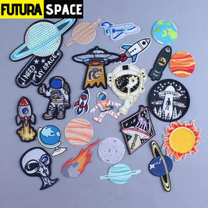 SPACE PATCH - Alien UFO - 100005735