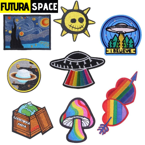 SPACE PATCH - Ironing - 100005735
