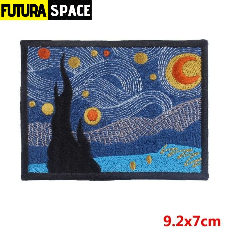 SPACE PATCH - Ironing - Transparent - 100005735