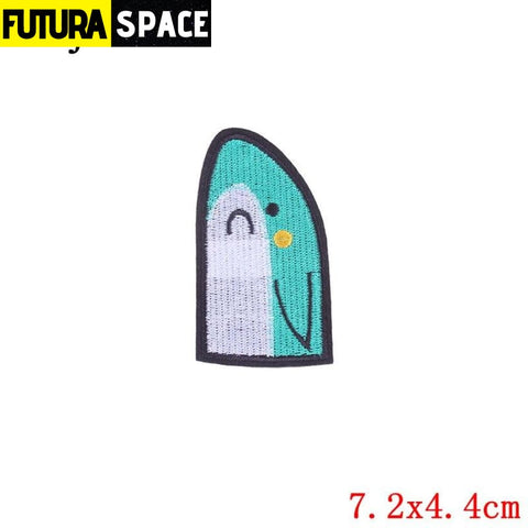 SPACE PATCH - Ironing - Nickel-Free White - 100005735