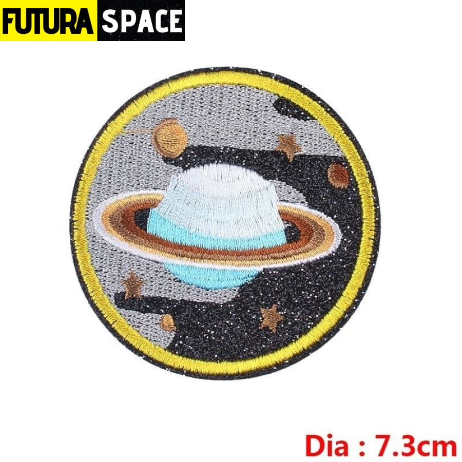 SPACE PATCH - Ironing - Yellow - 100005735
